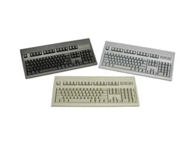 KeyTronic E06101P2 Black 104 Normal Keys PS/2 Standard Keyboard