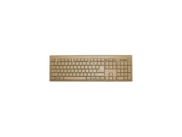 KeyTronic KT400U1 Beige USB Wired Standard Keyboard