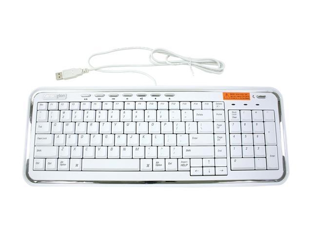 Kensington 64366 USB Slim Keyboard for Mac