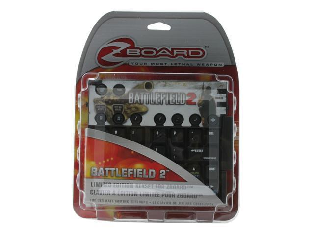 Ideazon Zboard Battlefield 2 Keyset IWONAE1-X1BF201 104 Normal Keys 19 Function Keys USB Wired Standard Keyboard