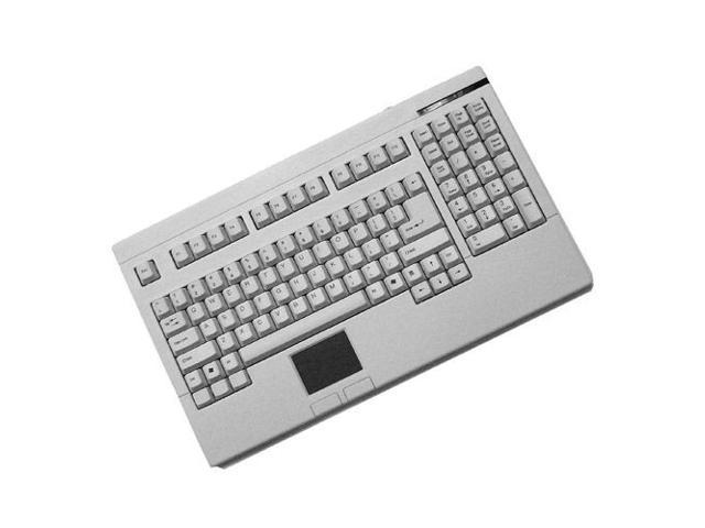 ADESSO EasyTouch 730 ACK-730UW White USB Wired Mini Touchpad Keyboard