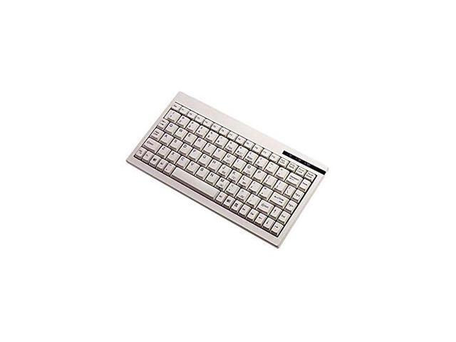 ADESSO ACK-595 White PS/2 Mini Keyboard with Embedded Numeric Keypad