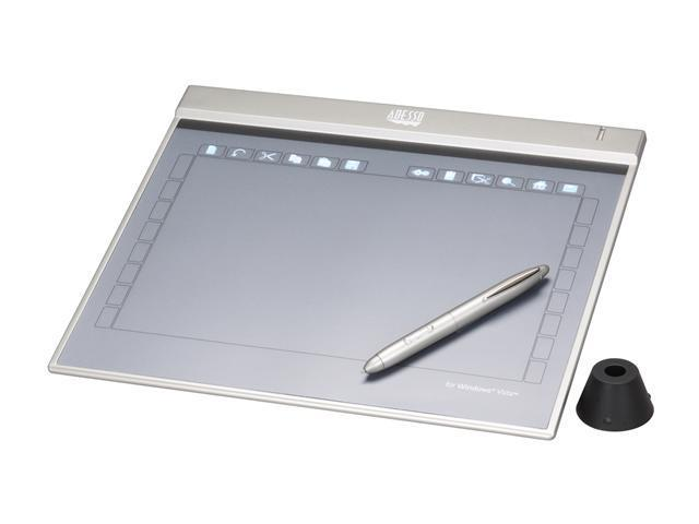 "ADESSO CyberTabletZ12 10"" x 6.25"" Active Area USB Widescreen Ultra Slim Graphics Tablet"
