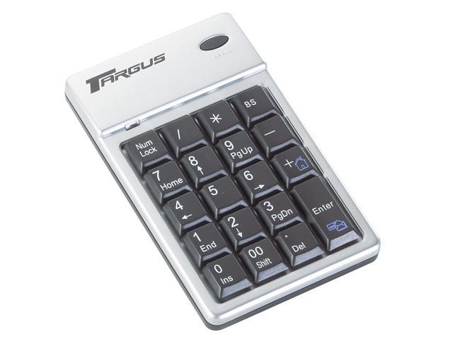 Targus PAKP003U 2-Tone 19 Normal Keys RF Wireless Keypad Wireless Keypad & Mouse Combo