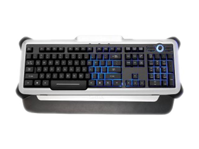 Saitek Eclipse II PK02U Silver & Black USB Wired Keyboard