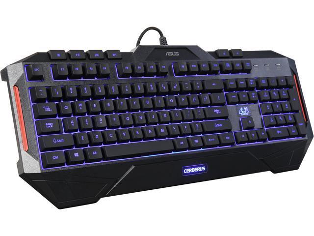 ASUS Cerberus Dual LED Color Backlit Gaming Keyboard