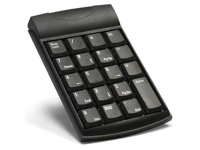 Unitech K19 K19U Black USB Mini Numeric Keypad