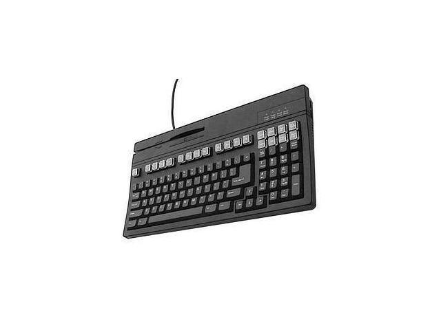 Unitech K2724U-B Dual Track Keyboard