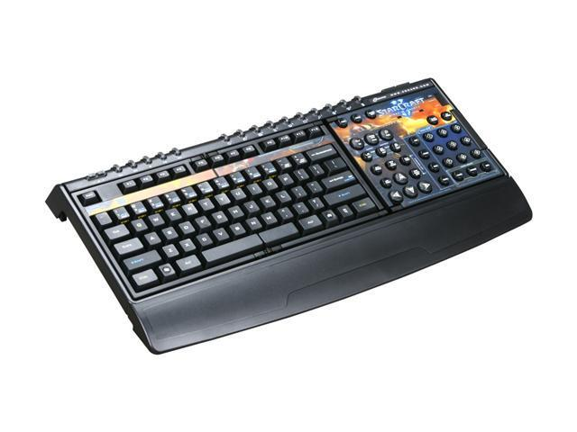 SteelSeries Zboard Limited Edition StarCraft II gaming keyboard