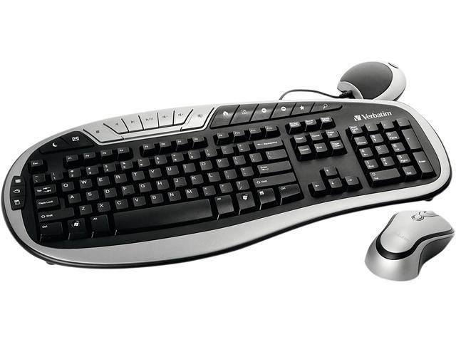 Verbatim 96665 Wireless Multimedia Keyboard