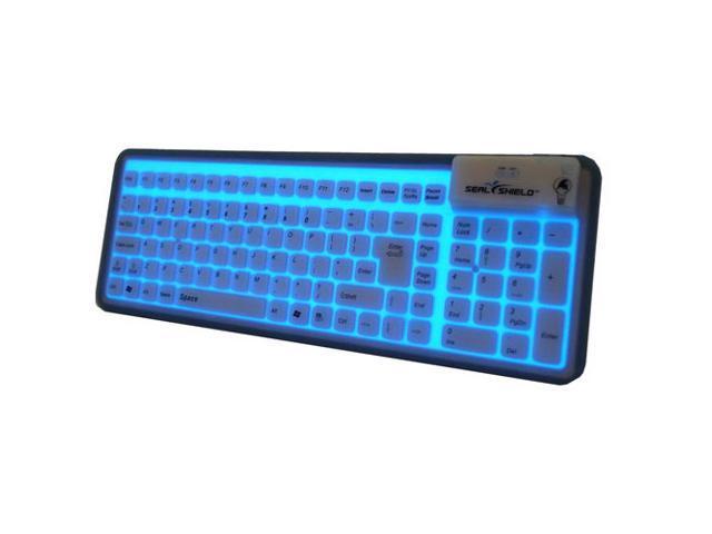 SEAL SHIELD GLOW2 S106G2 Black Wired Keyboard