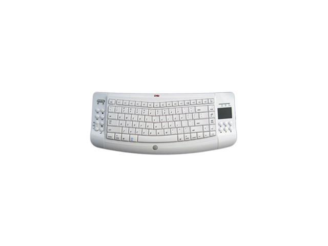 Ergoguys WKB-1000M White RF Wireless Keyboard Mac Touchpad