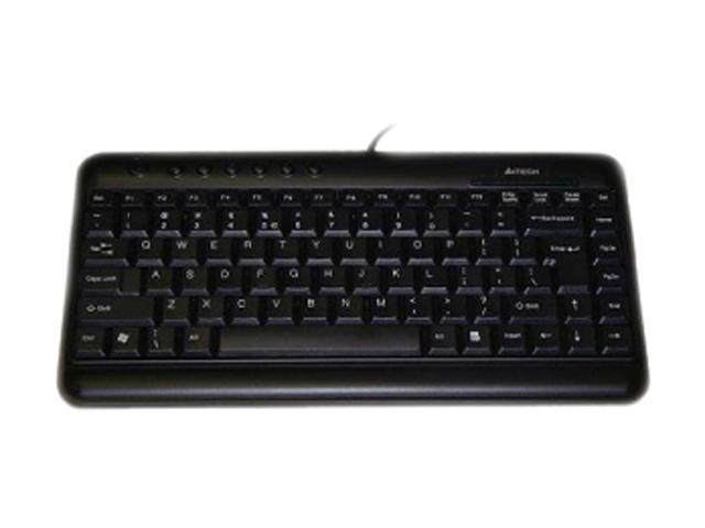 Ergoguys a4tech KL-5 BLK Black USB Mini Keyboard