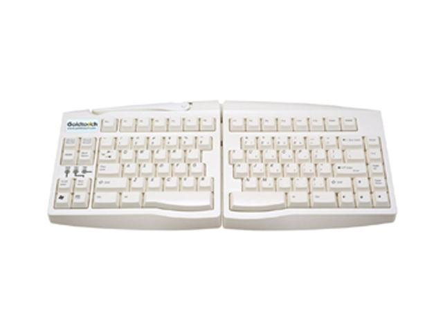 Goldtouch GTU-0033 White USB Wired Ergonomic Adjustable Keyboard