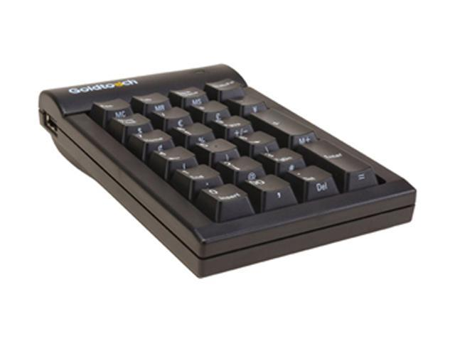 Goldtouch GTC-0077 Black USB Wired Numeric Keypad