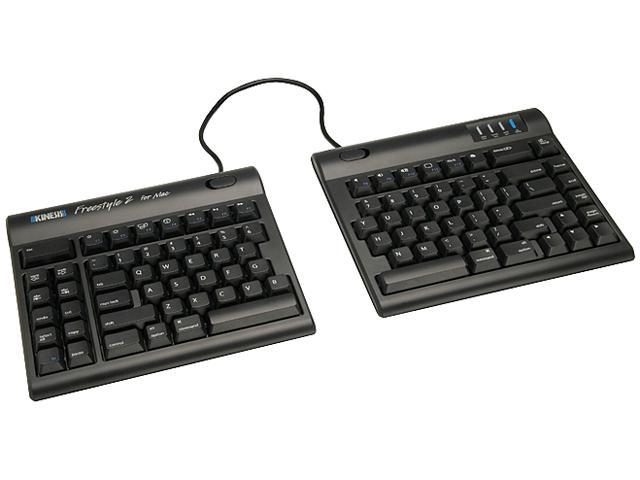 Kinesis Freestyle 2 Convertible Keyboard (KB800HMB) for Mac