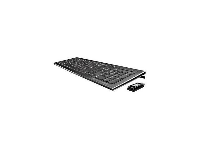 HP FQ480AA#ABA Black 2.4GHz Wireless Standard Elite Keyboard