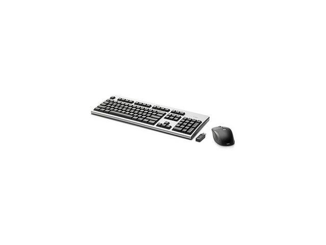 HP NB896AT Black&Silver 2.4GHz Wireless Keyboard and Mouse
