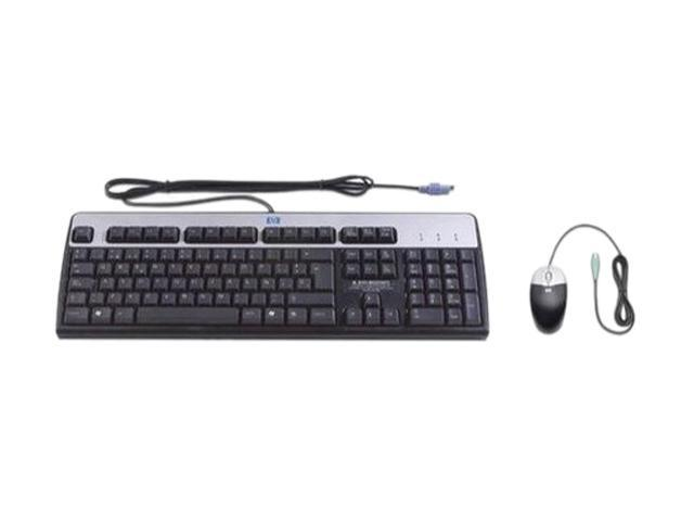 hp rc464aa ps 2 wired standard keyboard and mouse bundle. Black Bedroom Furniture Sets. Home Design Ideas