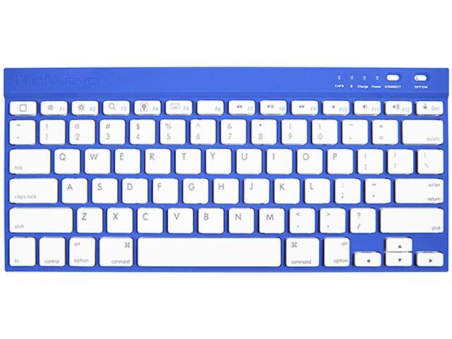 InNuevo 3104KMB Midnight Blue Bluetooth Wireless Mini Keyboard