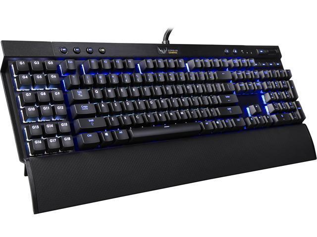 Corsair Certified K95 Vengeance Mechanical Gaming Keyboard, Cherry MX Red, RGB LED Backlit (CH-9000082-NA)