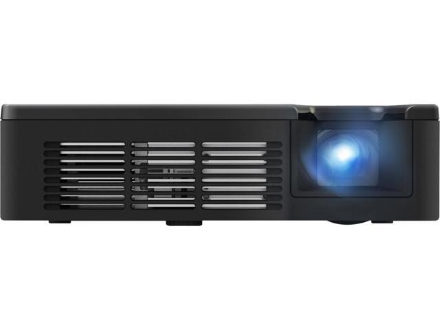 ViewSonic PLED-W600 1280 x 800 WXGA 600 ANSI Lumens, 5V USB Charging Port, 30K HRs Lamp Life, HDMI / MHL Input, Built-in 2W Speakers, SuperColor TM Tech, Ultra-portable LED Projector