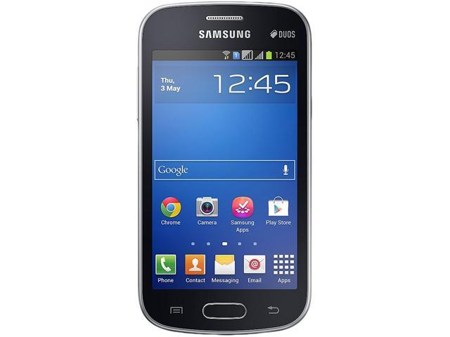 Samsung Galaxy Trend Lite Duos S7392 Unlocked GSM Android Cell Phone - Black
