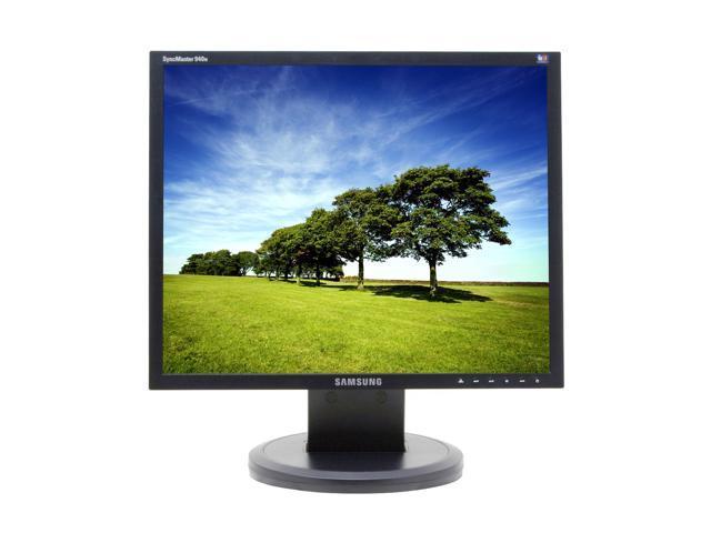"SAMSUNG 940N Black 19"" 5ms LCD Monitor w/Height & Pivot Adjustments 300 cd/m2 700:1"
