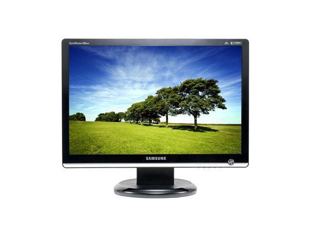 "SAMSUNG 906BW Black-Silver 19"" 2 ms (GTG) Widescreen LCD Monitor 300 cd/m2 2000:1 DC"