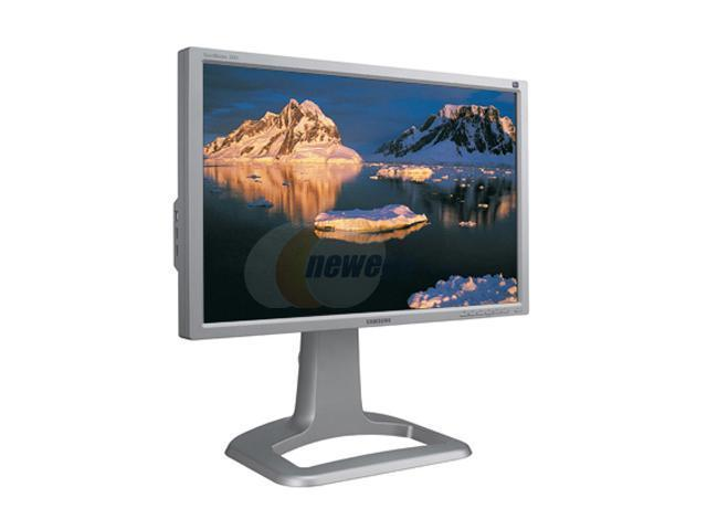 """SAMSUNG 244T-SV Silver 24"""" 6 ms (GTG) Widescreen LCD Monitor 500 cd/m2 1000:1"""