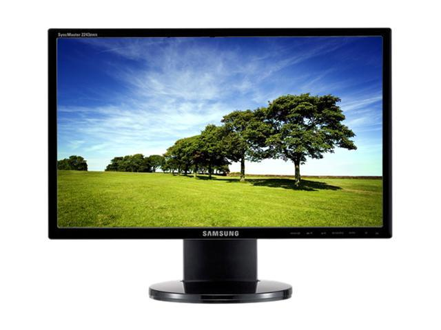 "SAMSUNG 2243BWT-TAA-1 Black 22"" Widescreen LCD Monitor"