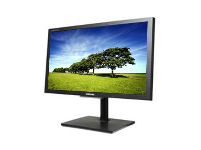 "SAMSUNG NC240 Black 23.6"" 5ms Widescreen LCD Monitor"