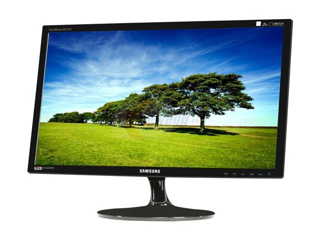 "SAMSUNG SyncMaster BX2431 Glossy Black 24"" 2ms GTG Widescreen LED Backlight LCD Monitor"