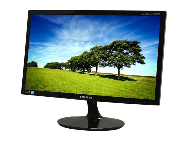 "SAMSUNG B300 Series S20B300B Black 20"" 5ms GTG Widescreen LED Backlight LCD Monitor"