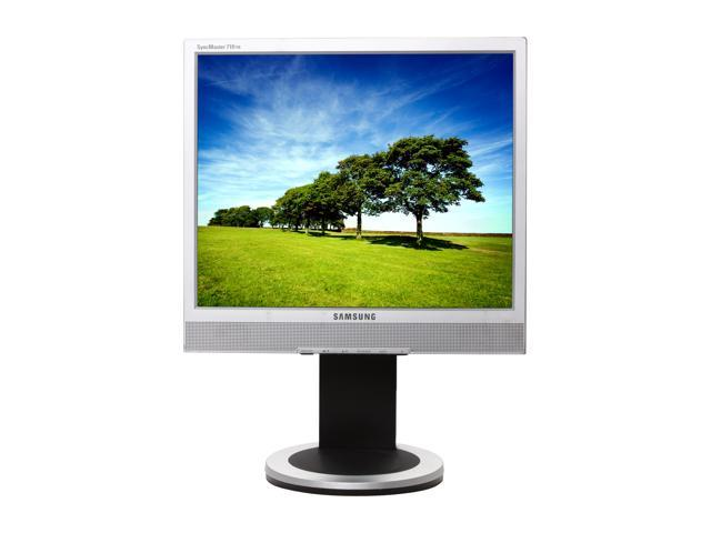 "SAMSUNG SyncMaster 710TM 17"" LCD Monitor 600:1 Built-in Speakers"