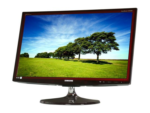"SAMSUNG T27B350ND Rose Black 27"" 5ms Widescreen LED Backlight LCD Monitor Built-in Speakers"