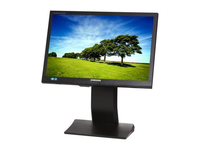 "SAMSUNG S19A450MW Black 19"" 5ms Widescreen LED Backlight Height & Pivot Adjustable LCD Monitor Built-in Speakers"