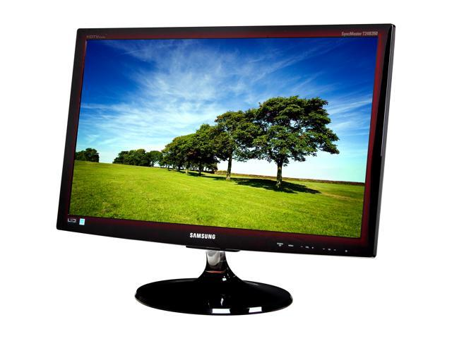 "SAMSUNG T24B350ND R Rose Black 24"" 5ms Widescreen LED Backlight LCD Monitor Built-in Speakers"