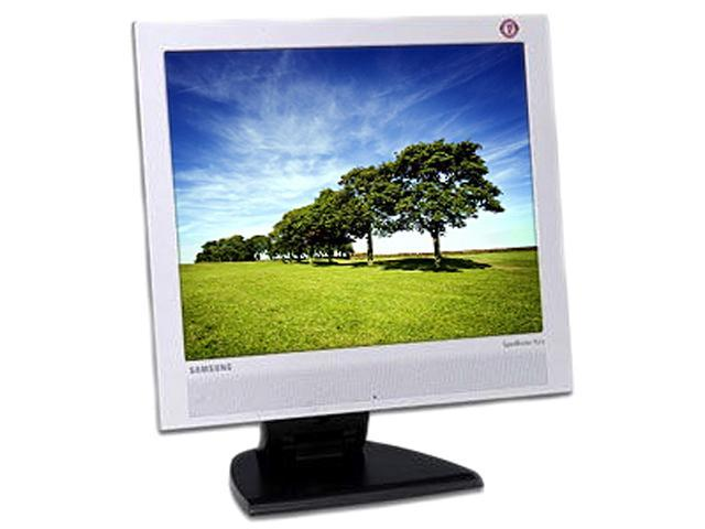 "SAMSUNG 173B Silver / Black 17"" 25ms LCD Monitor Built-in Speakers"