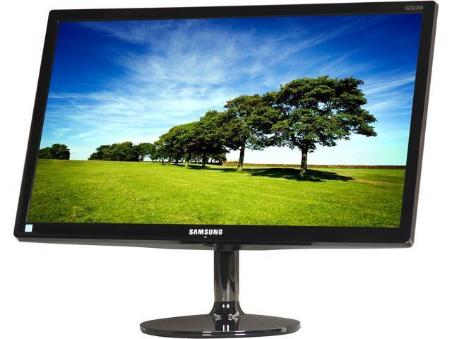 "SAMSUNG S23C350H Glossy Black 23"" 5ms (GTG) Widescreen LED Backlight LCD Monitor"