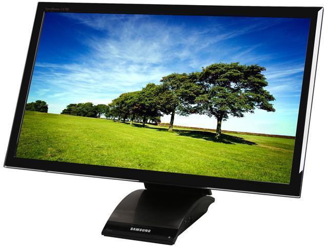 "SAMSUNG C23A750XS/ZA Black 23"" 2ms (GTG) Widescreen LED Backlight LCD Monitor"