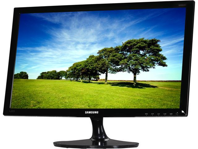 "SAMSUNG SD300 Series S24D300HL Black High Glossy 23.6"" 5ms (GTG) HDMI Widescreen LED Backlight LCD Monitor TN Panel 200 cd/m2 ..."
