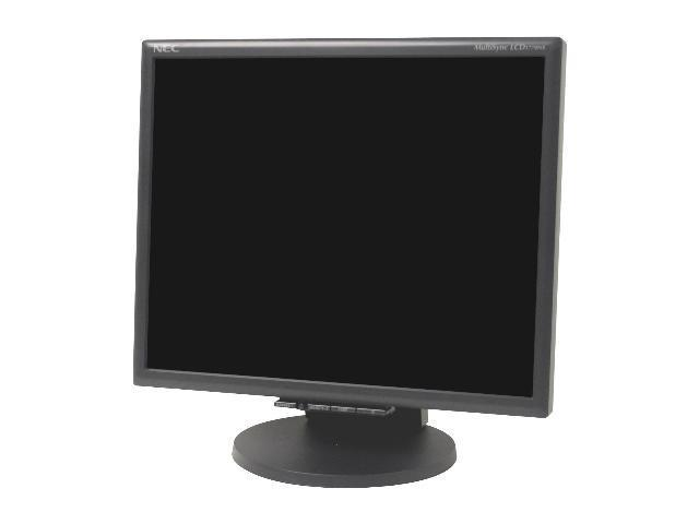 "NEC Display Solutions LCD1770NX-BK Black 17"" 5ms LCD Monitor 250 cd/m2 600:1"