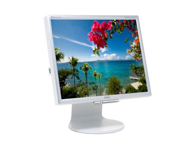 "NEC Display Solutions 70GX2 Silver 17"" 4ms LCD Monitor w/USB 2.0 hub 400 cd/m2 700:1"