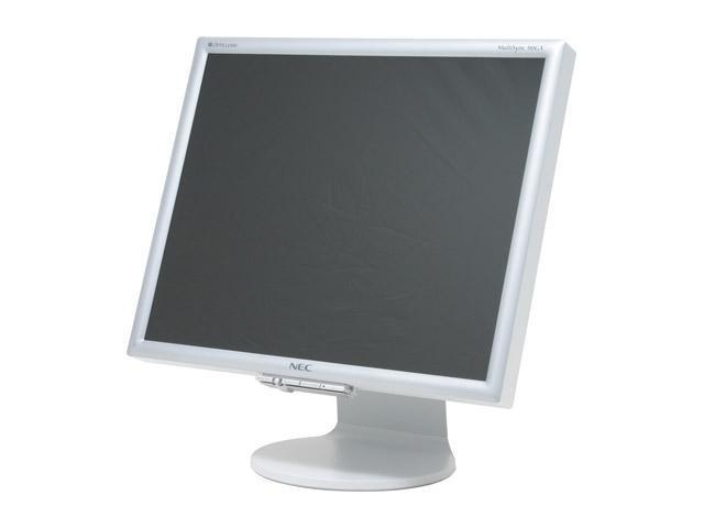 "NEC Display Solutions 90GX2 Silver 19"" 4ms LCD Monitor with 4-port USB 2.0 hub 400 cd/m2 700:1"