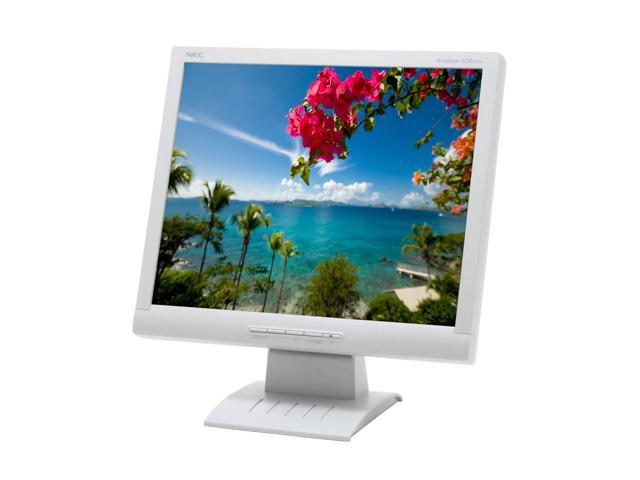 "NEC Display Solutions ASLCD72VX White 17"" 5ms LCD Monitor 250 cd/m2 600:1"