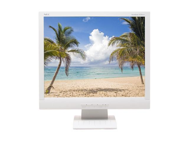 "NEC Display Solutions AccuSync LCD92VX White 19"" 5ms LCD Monitor 270 cd/m2 600:1"