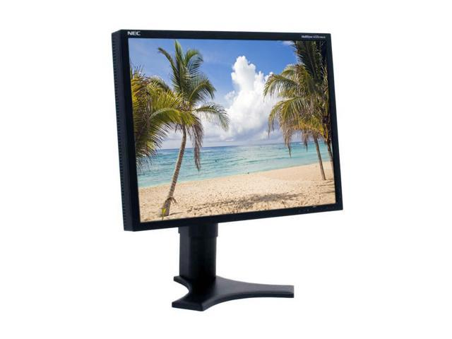 "NEC Display Solutions LCD2190UXi-BK Black 21.3"" 20ms LCD Monitor 300 cd/m2 1000:1"