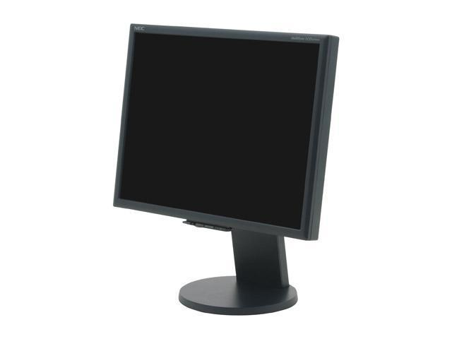 "NEC Display Solutions LCD2070NX-BK Black 20"" 16ms LCD Monitor with 4-port USB 2.0 hub 250 cd/m2 700:1"