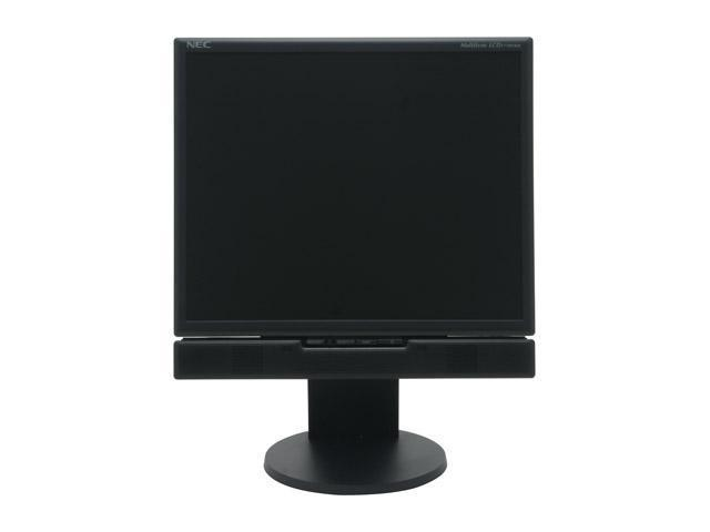"NEC Display Solutions LCD1770NXM-BK Black 17"" 8ms LCD Monitor w/height 250 cd/m2 600:1"